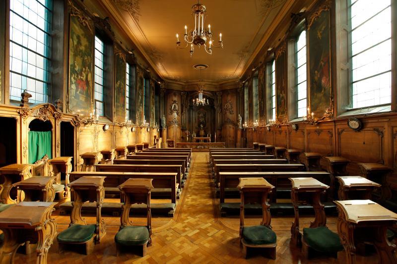 De priesterstudenten van het Hollands College in Leuven
